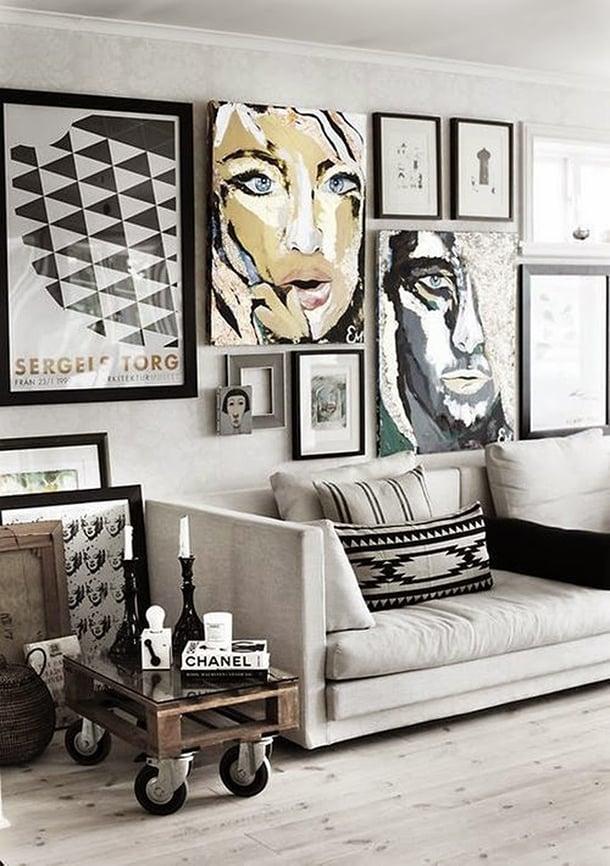 decoracao-com-quadros-inspiracao