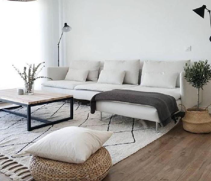 estilo minimalista sala