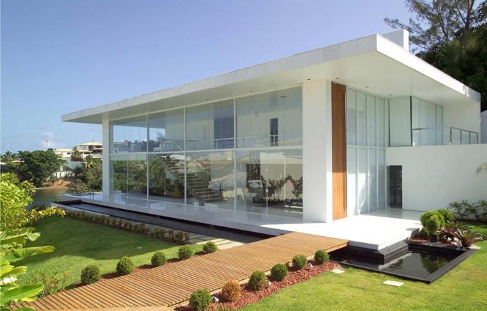 estilos diferentes para arquitetura de mansões clean