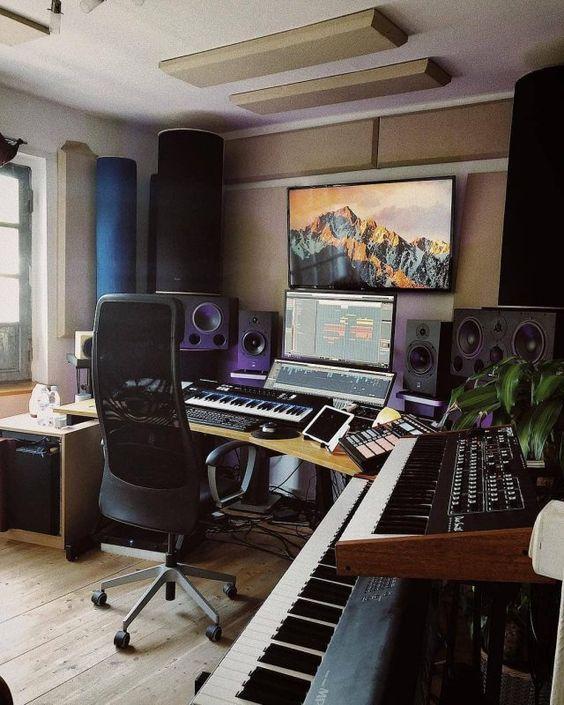 montar um mini estúdio musical