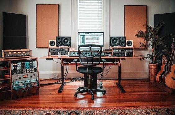 mini estúdio musical