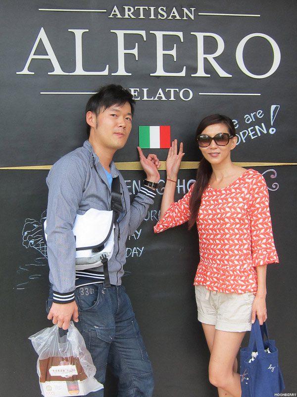 Alfero Gelato | Moonberry Lifestyle Blog Singapore