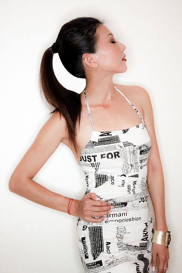 Newspaper Dress | The Moonberry Blog