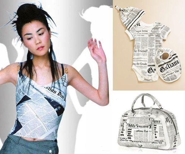 Newsprint Dress | The Moonberry Blog