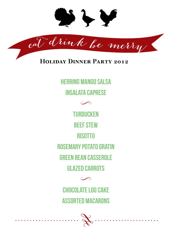 Singapore Top Lifestyle Food Fashion Blog | Christmas Holiday Dinner Party 2012