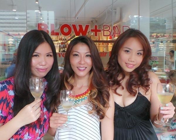 Singapore Top Lifestyle Chic Creative Blog Moonberry Blow+Bar