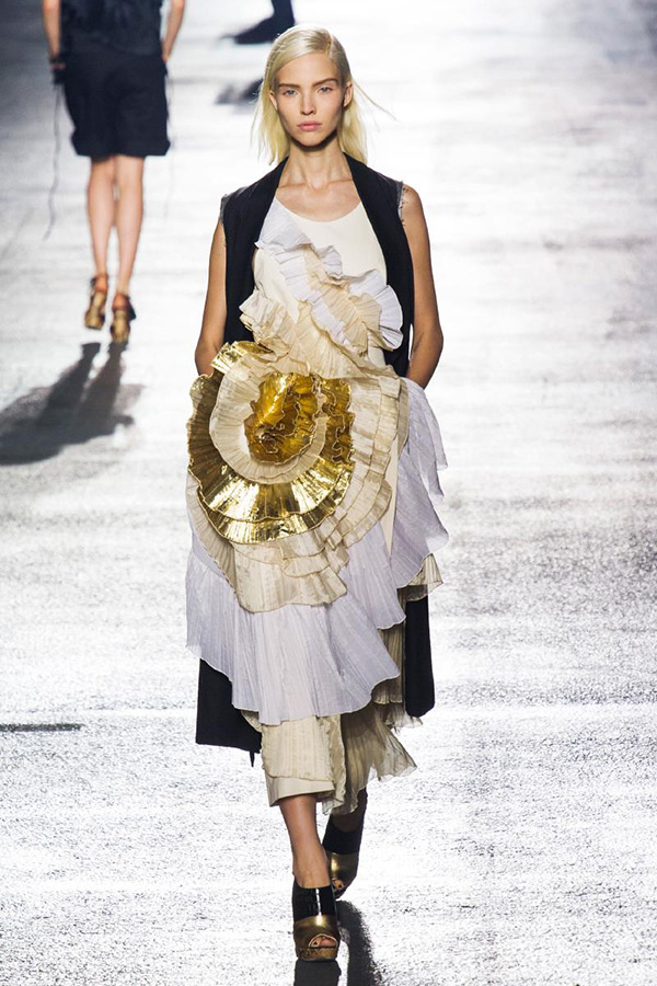 Dries Van Noten Spring 2014 RTW - Singapore Best Lifestyle Fashion Blog Moonberry
