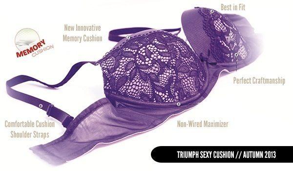 Triumph Sexy Cushion Autumn 2013