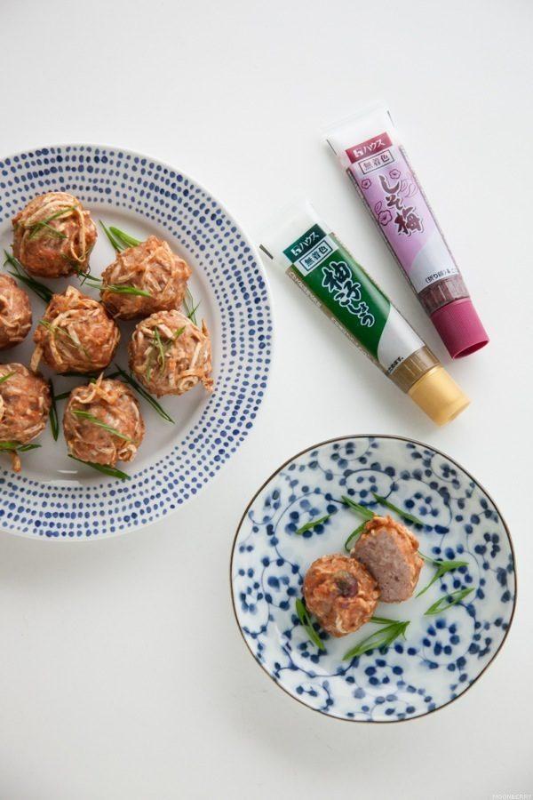 Shredded Taro Meatballs Recipe