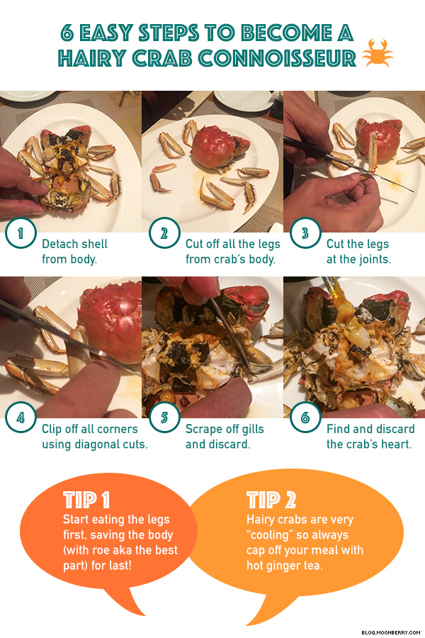 How To Eat Hairy Crabs