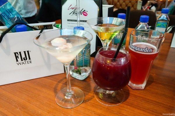 The Exchange Ladies Night Fiji Water