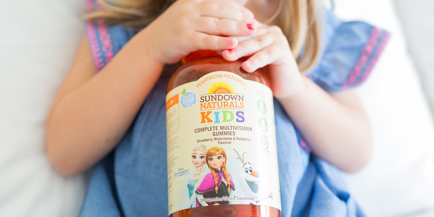 Vitamina Sundown Naturals Kids.