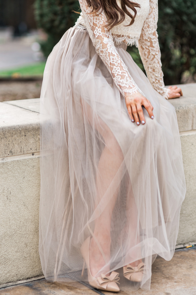 morning lavender cute tulle skirts for women - 112