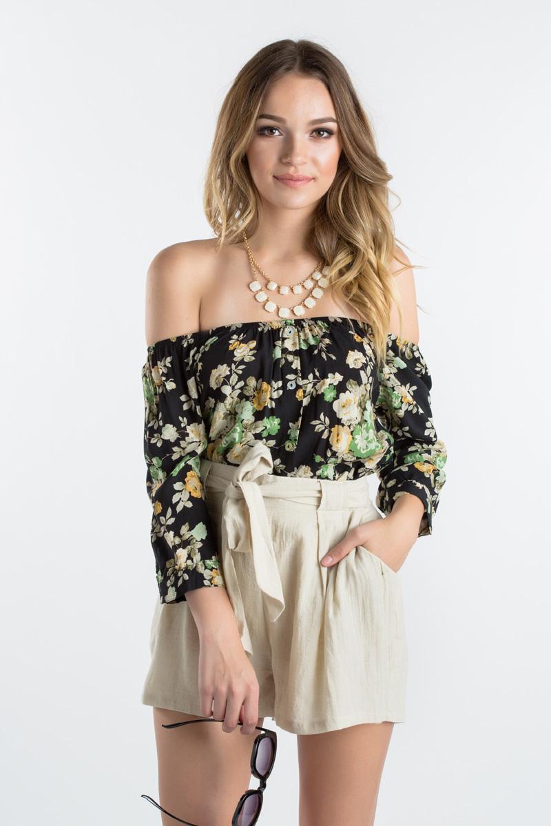 morning lavender cute shorts for women - 04