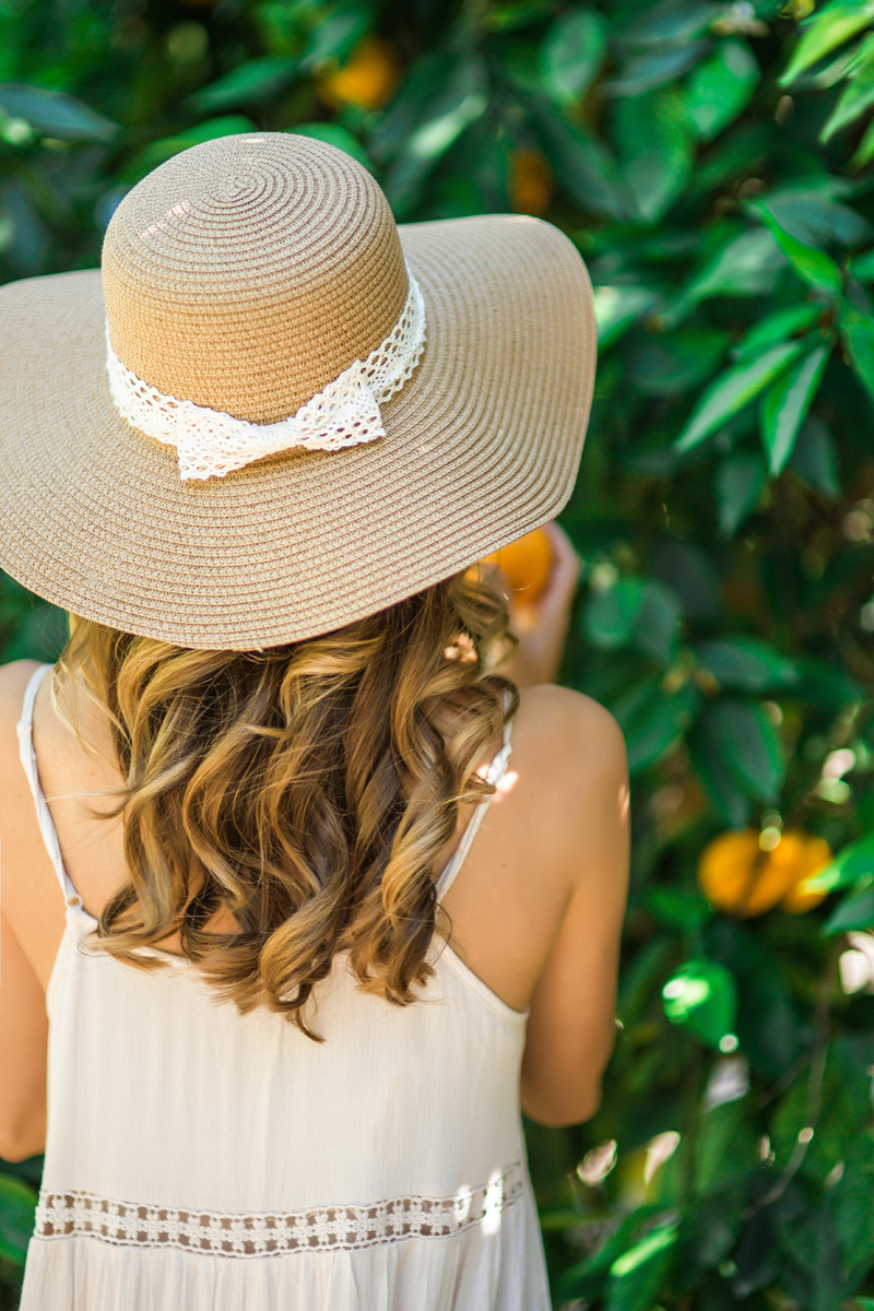 morning lavender cute spring hats for women - 01