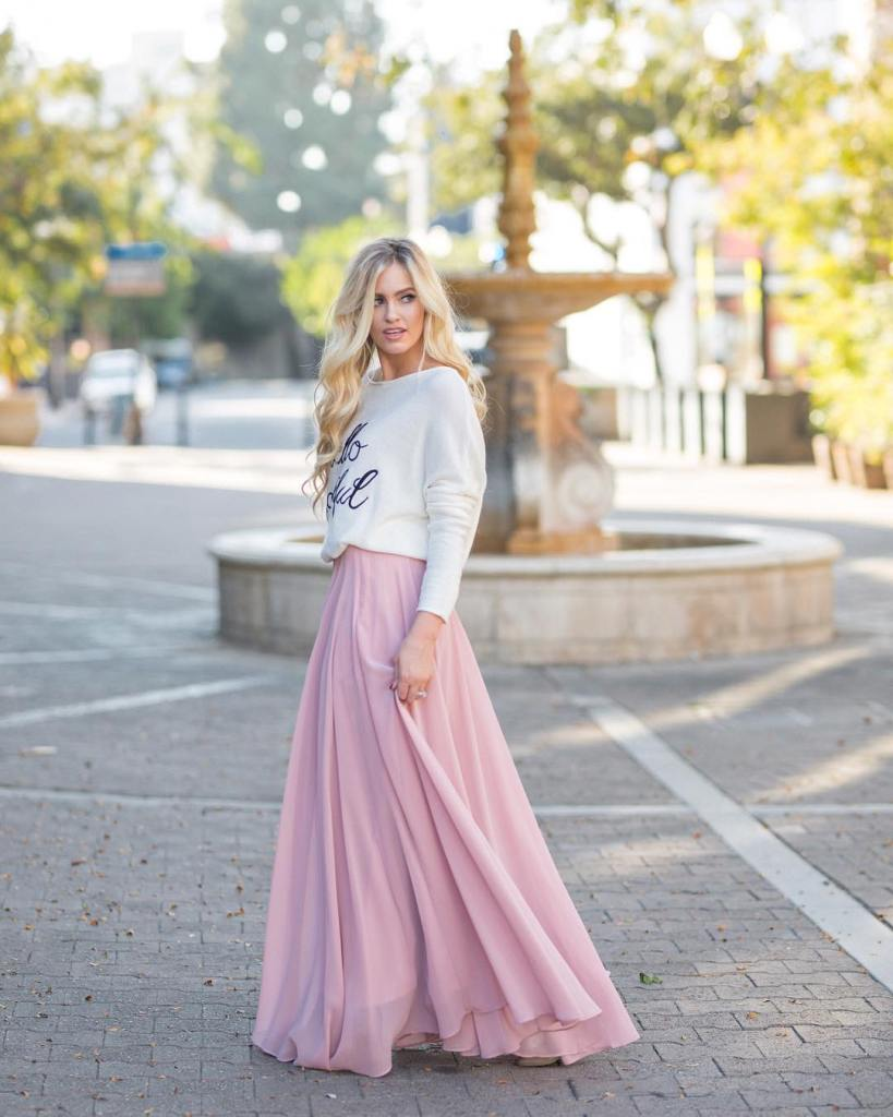 Flowy maxis are our favorite