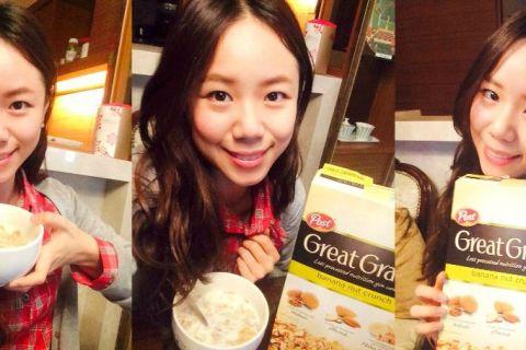 【 麥片女孩 Yi Ting 】妳還在吃高熱量早餐嗎?