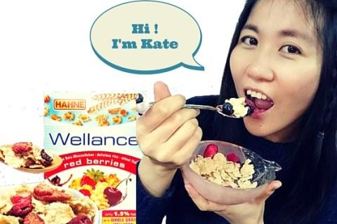 【 麥片女孩 Kate 】終於等到你了!德國漢妮低脂水果麥片