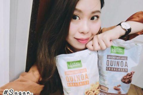 【 麥片女孩 Sugar 】早餐點心都方便?  Gogo Quinoa 免煮有機米藜麥脆片