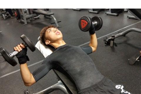【蛋白男女】Vincent 用健身讓「泳技」和「身材」再升級!