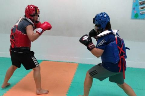 【蛋白男女】格鬥女孩香如,利用多元的運動訓練打出帥氣英姿