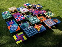 Materials and Methods Outdoor Mosaic Tables | How To Mosaic