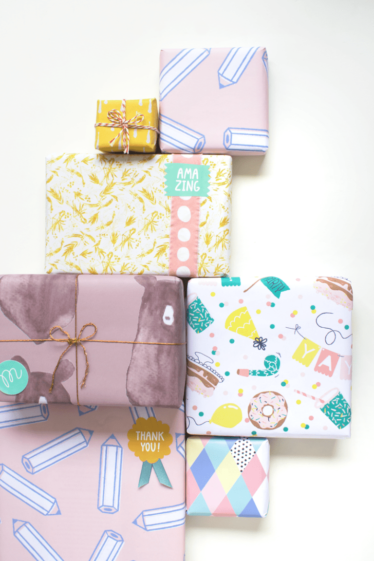 Personalized giftwrap ideas