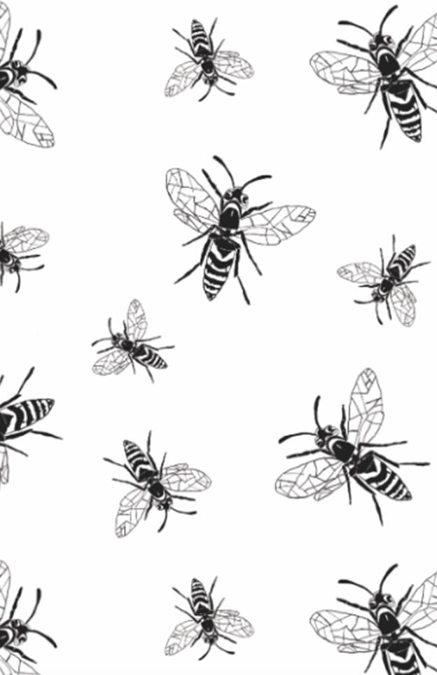 Pattern: Wespen