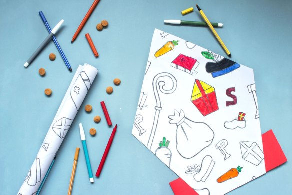 Sinterklaas knutselen met Motiflow papier