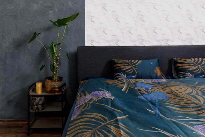 Papegaai slaapkamer
