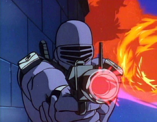 Remember when kids played with GI Joe? Remember Snake Eyes, guys?  Snake Eyes?