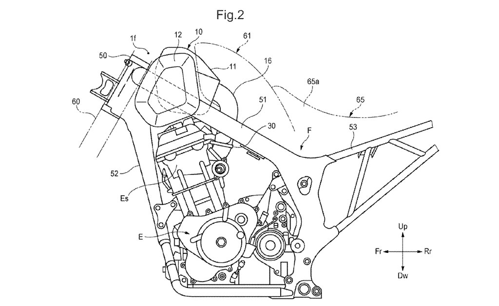 Retro-Styled Dual Sport Revealed in Honda Patent
