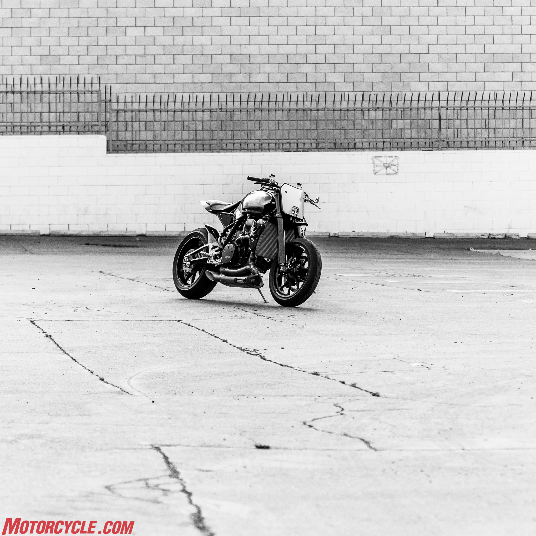 The Scrappier A Ktm Rc8 Gone Wild