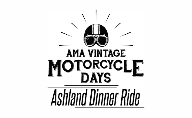 Ashland Dinner Ride, BBQ and Pit Pass at 2018 AMA Vintage