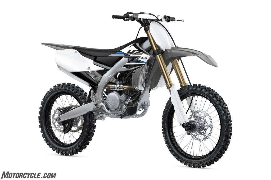 Some New Dirt Models Among Yamaha's (Partial) Class Of