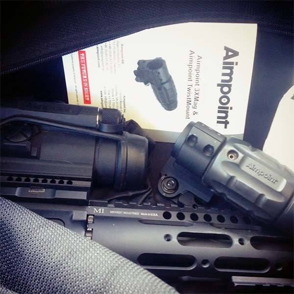 aimpoint 3x magnifier review
