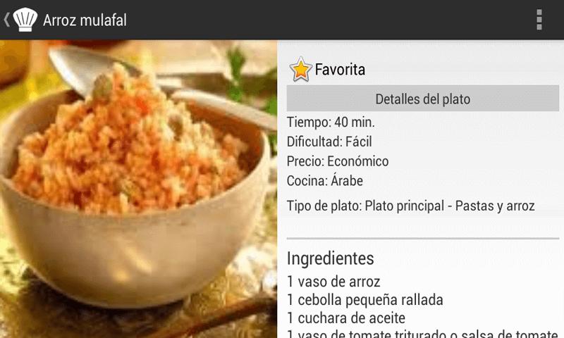 cocinas recetas