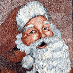Artwork For Living Room Walls Decorating Ideas With Gray How To Decorate Your Home Christmas Mosaics ...