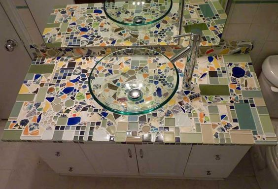 best mosaic countertop ideas for your