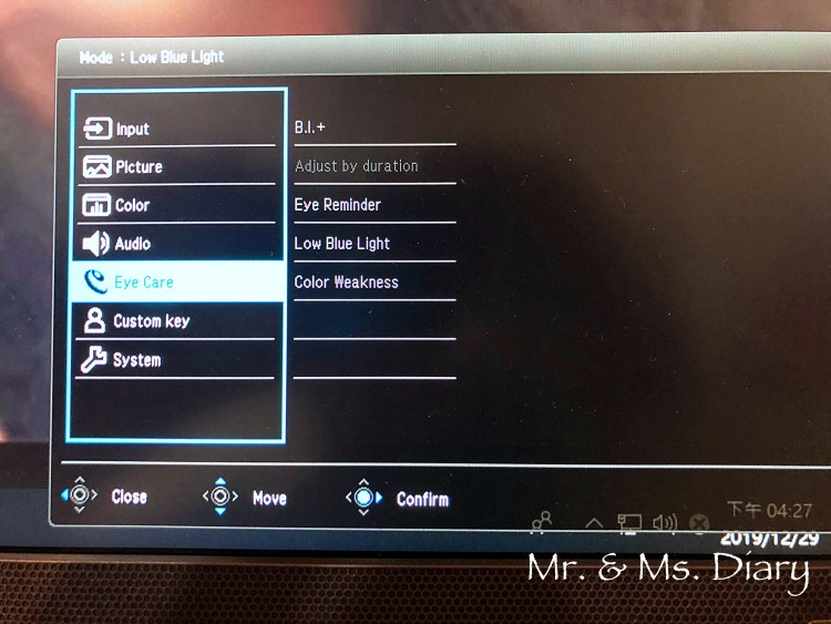 BenQ 27 吋護眼螢幕 EX2780Q,獨家類瞳孔技術及2.1聲道設備,讓看片、剪片都能舒服操作 13
