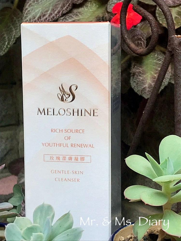 Meloshine 媚麗光彩玫瑰潔膚凝膠,洗卸保養三合一 1