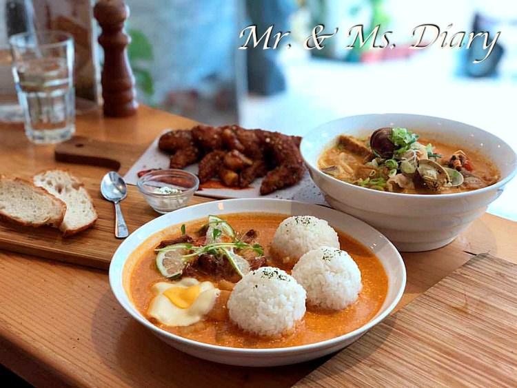 慢牛,高雄巨蛋必吃早午餐,超美味牛肉料理與馬來西亞特色麵 3
