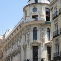 Hagen Dazs building in Madrid
