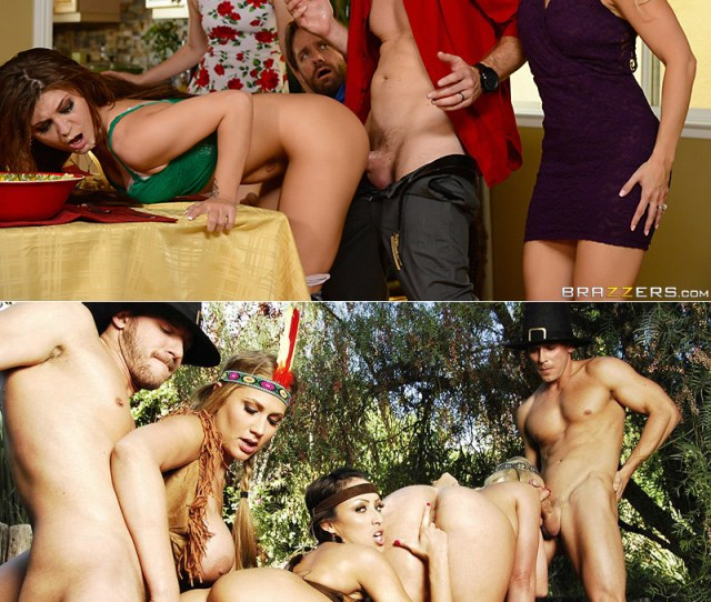 Brazzers Thanksgiving Porn Scenes