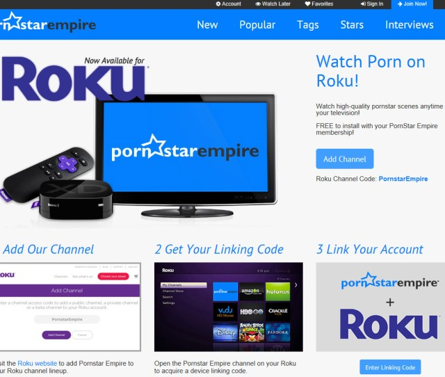 Perused The Available Adult Roku Channels From Vivid To Videobox In The Hopes That More And More Readers Will Embrace Tv Based Porn Streaming Just As