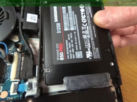 Démontage du HP 15-cb004nf