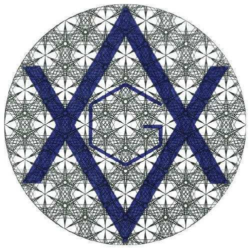 Symboles franc-maçon contenu dans la Fleur de Vie