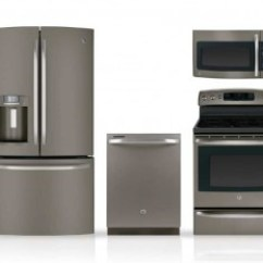 Kitchen Appliance Packages Stainless Steel Professional Faucet Best Not Alternative Ge Slate 4 Piece Package