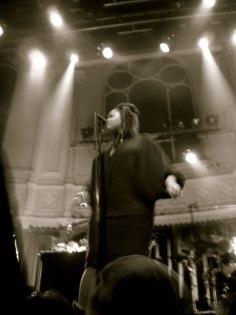 Jill Scott on stage