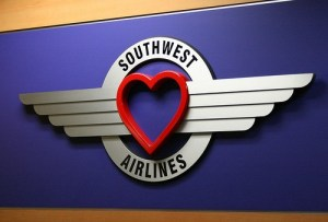 Southwest Airlines is Love